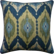 kublai blue pillow