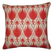 lacefield casablanca pillow with jute eyelash trim