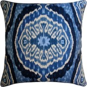 masala denim pillow
