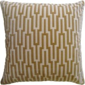 metropolitan velvet palomino pillow