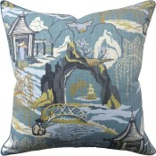 neo toile cove pillow