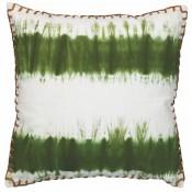 olive tie dye pillow