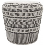 surya parkdale charcoal outdoor stool