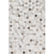 promenade collection grey rug