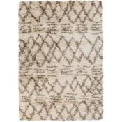surya rhapsody area rug, cream and mocha