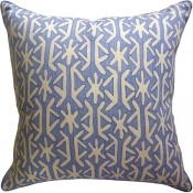 rinca blue pillow