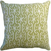 rinca green pillow