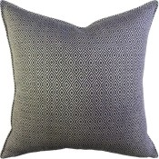 sophia diamond noir pillow