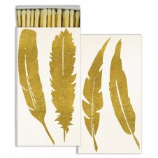 feather gold foil matches