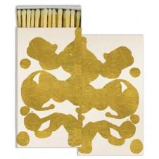 rorschach gold foil matches