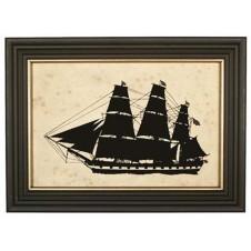 silhouette constellation ship