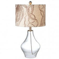 octopus drum shade table lamp