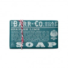 barr-co. shea butter & olive oil bar soap in spanish lime