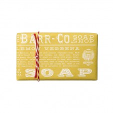 barr-co. shea butter & olive oil bar soap in lemon verbena