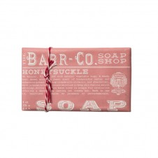 barr-co. shea butter & olive oil bar soap in honeysuckle