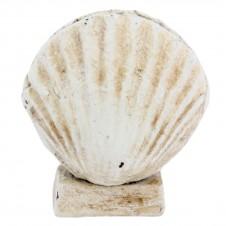 homart cast iron scallop place card holder