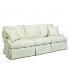 victoria skirted sofa