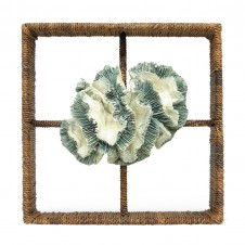 palecek broach coral shadow box