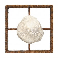 palecek mushroom coral shadow box