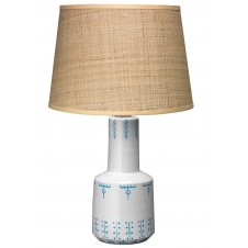 jamie young berber table lamp w/ classic cone shade