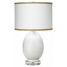 jamie young small egg table lamp w/ small drum shade