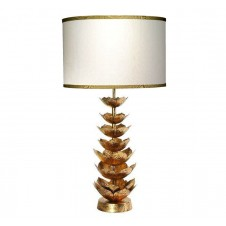 jamie young flowering lotus table lamp w/ medium drum shade