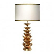 jamie young flowering lotus table lamp w/ medium drum shade