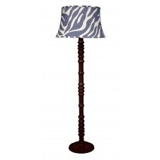 jamie young longshan floor lamp w/ large bell shade