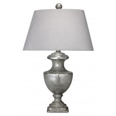 jamie young mini lee urn table lamp w/ small oval rectangle shade