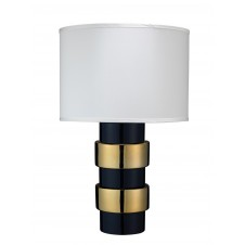 jamie young nash table lamp w/ drum shade