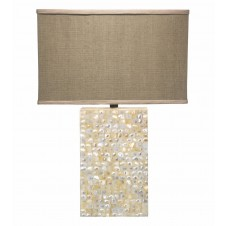 jamie young parallax table lamp w/ rectangle shade