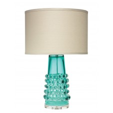jamie young tall ribbon table lamp w/ drum shade