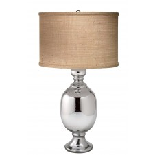 jamie young small st. charles table lamp w/ medium drum shade