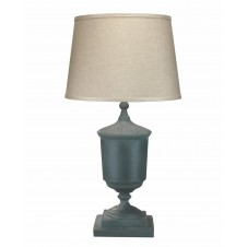 jamie young trophy table lamp w/ open cone shade
