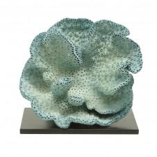 palecek blue sponge coral