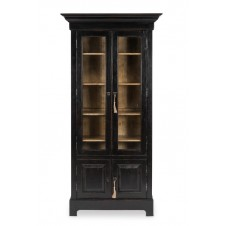 bookcase in ebony finish