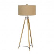 palecek stanton tripod floor lamp