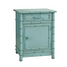 redford house faux bamboo nightstand
