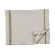 3 stripe dark tea towel