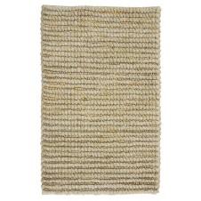 mushroom wool jute rug