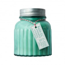 barr-co. apothecary jar candle marine