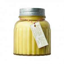 barr-co. apothecary jar candle lemon verbena