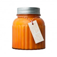 barr-co. apothecary jar candle blood orange amber