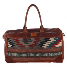 will leather goods oaxacan duffle bag