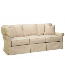 jasmine skirted sofa