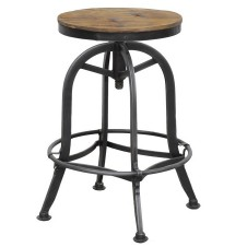 akron round counter stool