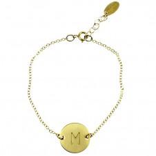 "charm ""identity"" bracelet"