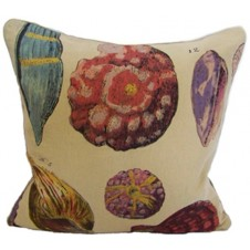 linen shell pillow