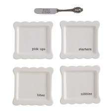 tidbit plates set