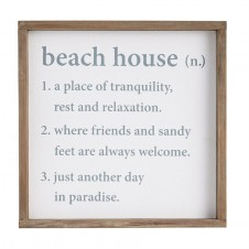 mud pie beach house definition plaque